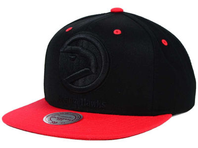 Atlanta Hawks Mitchell and Ness NBA XL Tonal Snapback Cap
