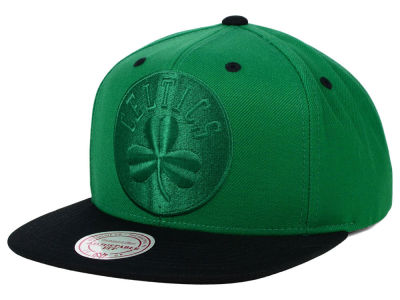 Boston Celtics Mitchell and Ness NBA XL Tonal Snapback Cap
