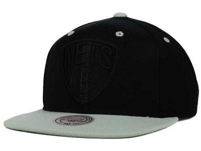 Brooklyn Nets Mitchell & Ness NBA XL Tonal Snapback Cap