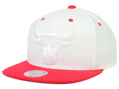 Chicago Bulls Mitchell and Ness NBA XL Tonal Snapback Cap