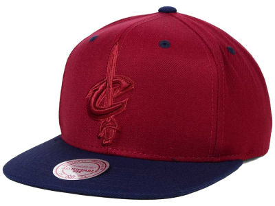 Cleveland Cavaliers Mitchell and Ness NBA XL Tonal Snapback Cap