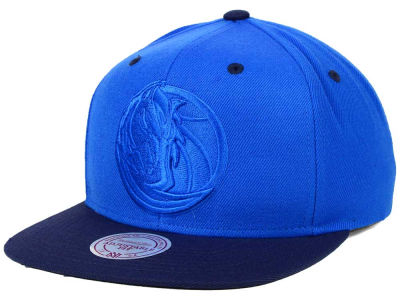 Dallas Mavericks Mitchell and Ness NBA XL Tonal Snapback Cap