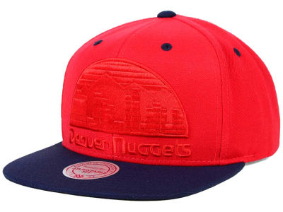 Denver Nuggets Mitchell and Ness NBA XL Tonal Snapback Cap