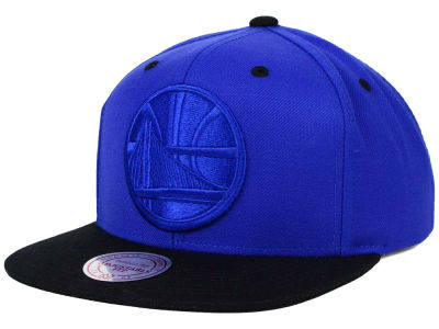 Golden State Warriors Mitchell and Ness NBA XL Tonal Snapback Cap
