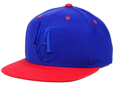 Los Angeles Clippers Mitchell and Ness NBA XL Tonal Snapback Cap
