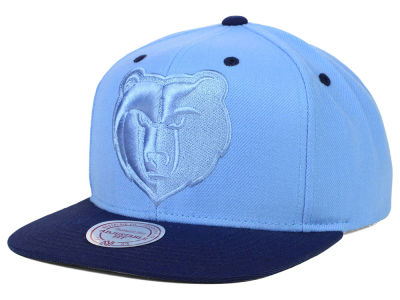 Memphis Grizzlies Mitchell and Ness NBA XL Tonal Snapback Cap