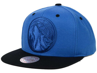 Minnesota Timberwolves Mitchell and Ness NBA XL Tonal Snapback Cap