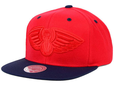 New Orleans Pelicans Mitchell and Ness NBA XL Tonal Snapback Cap