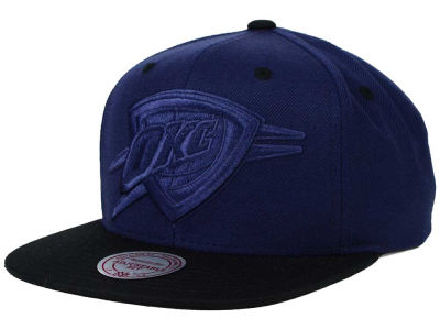 Oklahoma City Thunder Mitchell and Ness NBA XL Tonal Snapback Cap