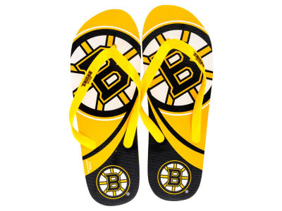 Boston Bruins Big Logo Flip Flop 2015