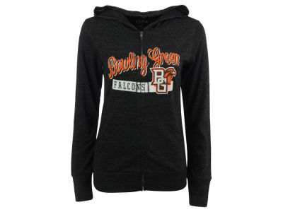 Bowling Green Falcons Blue 84 NCAA Women's Script Full Zip Hoodie
