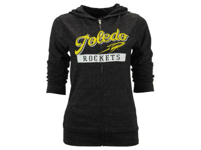 Toledo Rockets Blue 84 NCAA Women's Script Full Zip Hoodie