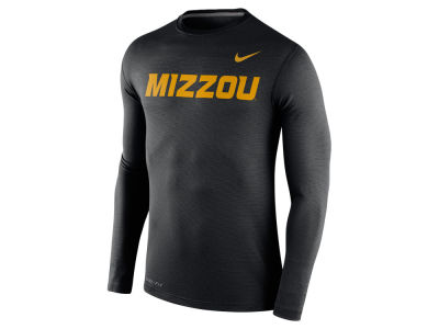 Missouri Tigers Nike NCAA Men's Stadium Dri Fit Touch Long Sleeve T-Shirt