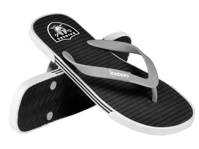 Oakland Raiders Athletic Slide Flip Flop