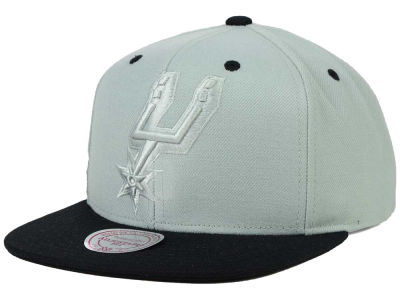 San Antonio Spurs Mitchell and Ness NBA XL Tonal Snapback Cap