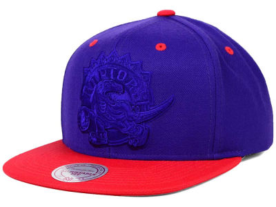 Toronto Raptors Mitchell and Ness NBA XL Tonal Snapback Cap