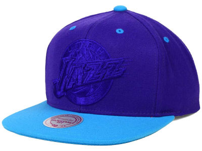Utah Jazz Mitchell and Ness NBA XL Tonal Snapback Cap