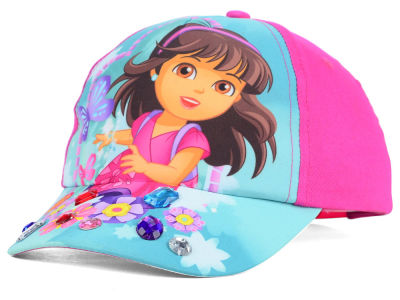 Nickelodeon Dora and Friends Youth Gem Adjustable Hat