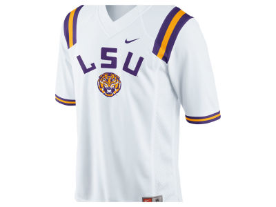 LSU Tigers Nike NCAA Men's Fashion Football Jersey
