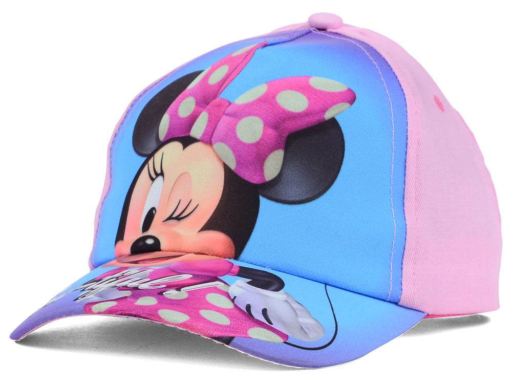 de3ecdbc06ec1 ... low price disney toddler minnie glitter bow adjustable hat lids 8f9f3  d4ae4