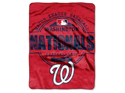 Washington Nationals Micro Raschel 46inch x 60inch Structure Blanket