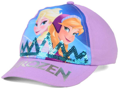 Disney Youth Frozen Sequin Crown Adjustable Hat