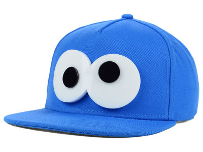 Sesame Street Youth Googley Eyes Snapback Hat