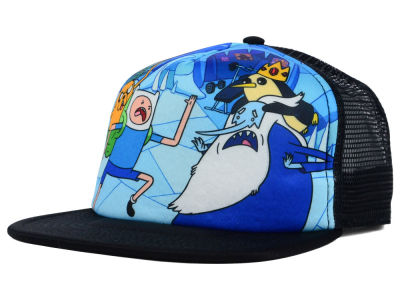 Adventure Time Finn Vs Ice King Foam Meshback Hat