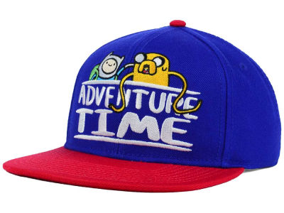 Adventure Time Youth Finn and Jake Snapback Hat