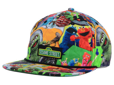 Sesame Street All Over 5 Panel Hat