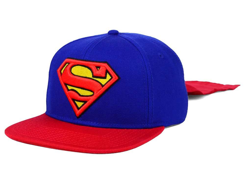 345f12ae5a6 DC Comics Superman Cape Snapback Hat