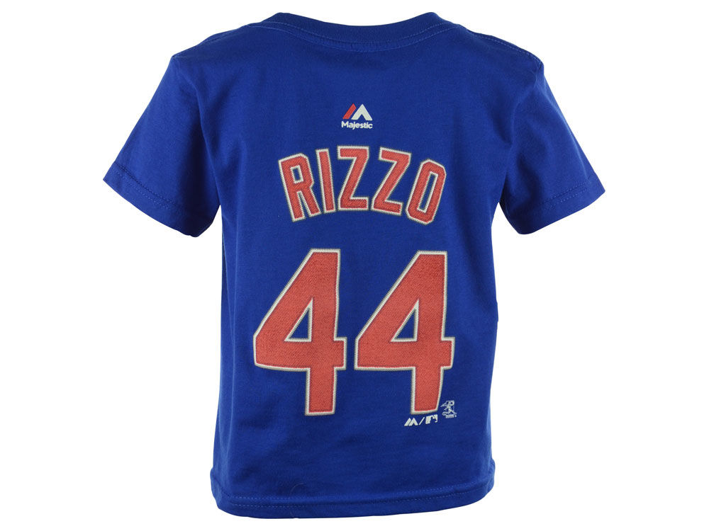 3c765f40971 ... greece chicago cubs anthony rizzo majestic mlb kids official player t  shirt 7a10a c92ee