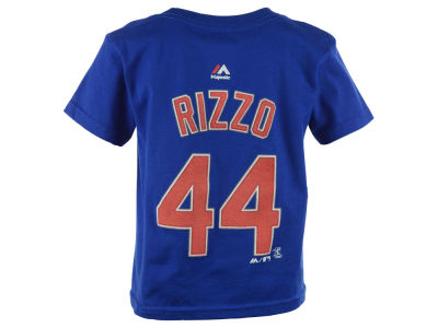 Chicago Cubs Anthony Rizzo  MLB Kids Official Player T-Shirt