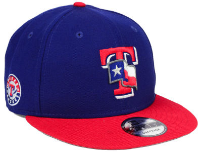Texas Rangers New Era MLB 2 Tone Link 9FIFTY Snapback Cap