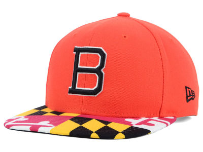 Baltimore Orioles New Era MLB Flag Up 9FIFTY Snapback Cap