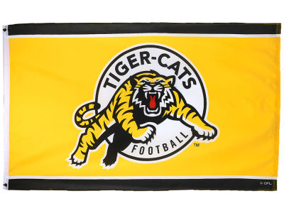 Hamilton Tiger-Cats Flag 3x5
