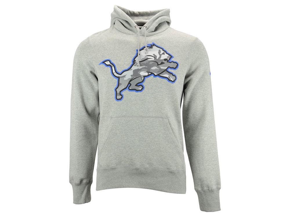Detroit Lions Nike NFL Men s Fly Over Pack Hoodie  30e31e7dd
