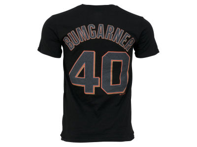 San Francisco Giants Madison Bumgarner Majestic MLB Men's Official Player T-Shirt