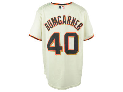San Francisco Giants Madison Bumgarner MLB Youth Player Replica Cool Base Jersey