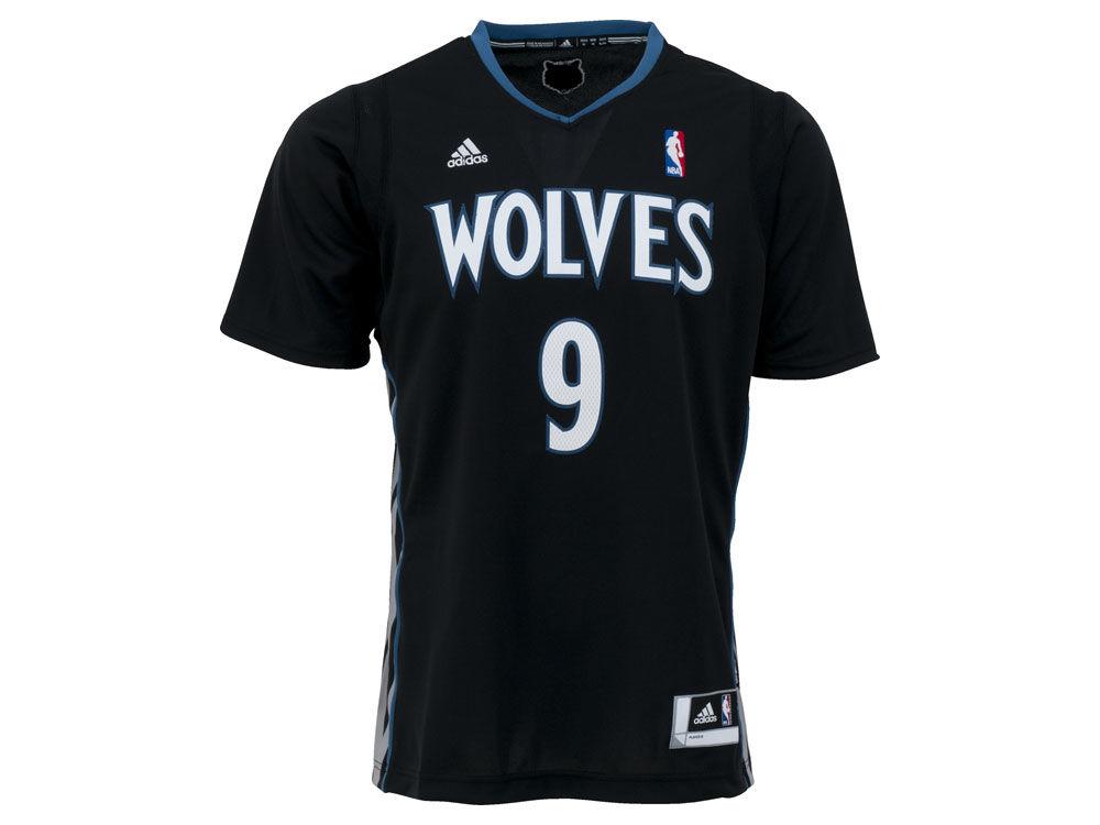 Minnesota Timberwolves Ricky Rubio adidas NBA Revolution 30 Swingman Jersey   409051a77