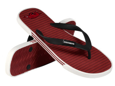 Arkansas Razorbacks Athletic Slide Flip Flop