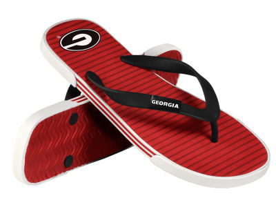 Georgia Bulldogs Athletic Slide Flip Flop