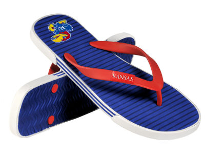 Kansas Jayhawks Athletic Slide Flip Flop