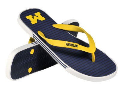 Michigan Wolverines Athletic Slide Flip Flop