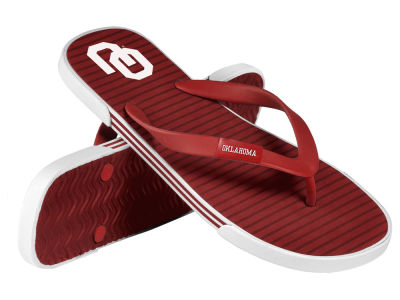 Oklahoma Sooners Athletic Slide Flip Flop
