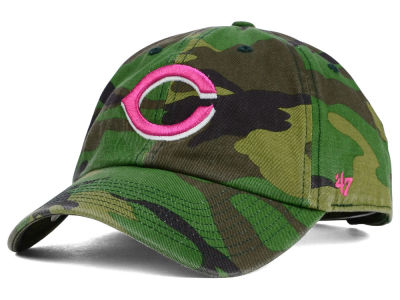 Cincinnati Reds '47 MLB Womens Camo '47 Clean Up Cap