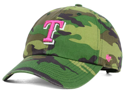 Texas Rangers '47 MLB Womens Camo '47 Clean Up Cap