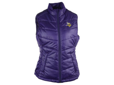 Minnesota Vikings NFL Women's Weathertec Quilted Vest