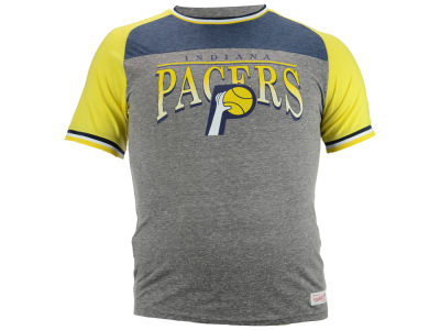 Indiana Pacers Mitchell and Ness NBA Men's Post Up Vintage T-Shirt