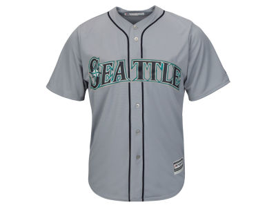 Seattle Mariners Majestic MLB Men's Blank Replica Cool Base Jersey